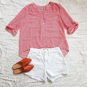 CHICO's Striped Summer Top